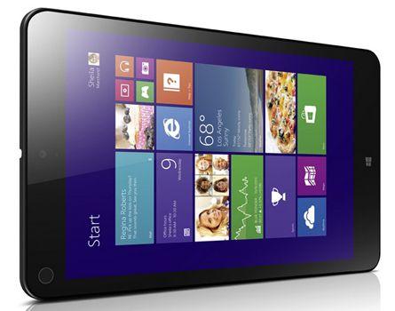 Lenovo ThinkPad 8 20BN002QGE   8 Zoll Full HD IPS LTE Tablet (Quad Core, 2GB Ram, 64GB, LTE, Win8.1) für 296,99€