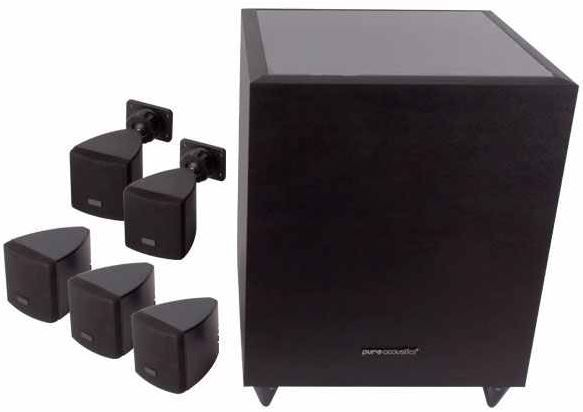 Lord Pure Acoustics 5.1   Heimkino Set mit 270 Watt + aktiven Subwoofer für nur 149€