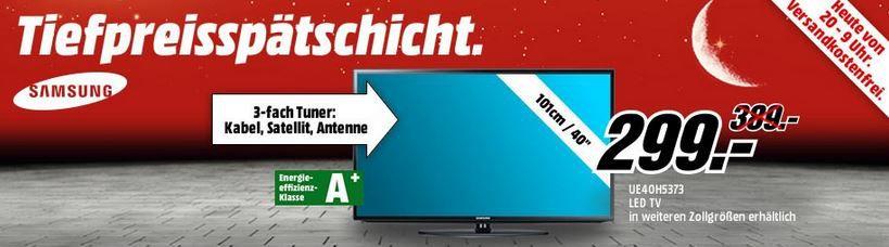 MM tiefpreis Samsung UE50H5373   50 Zoll Smart TV für 449€ bei der Media Markt Tiefpreis Aktion!