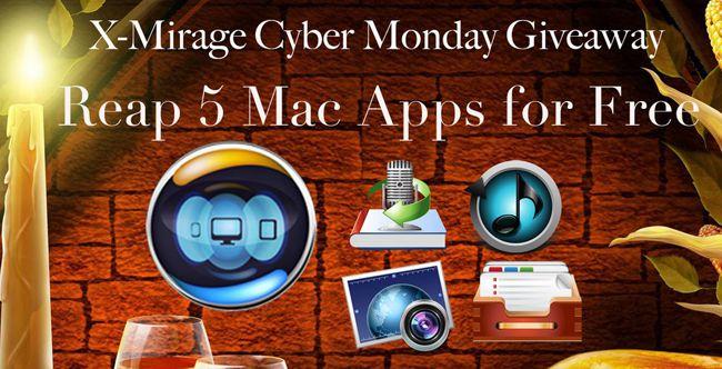 Mac App Bundle: 5 Anwendungen im Wert von 108€ kostenlos bei X Mirage