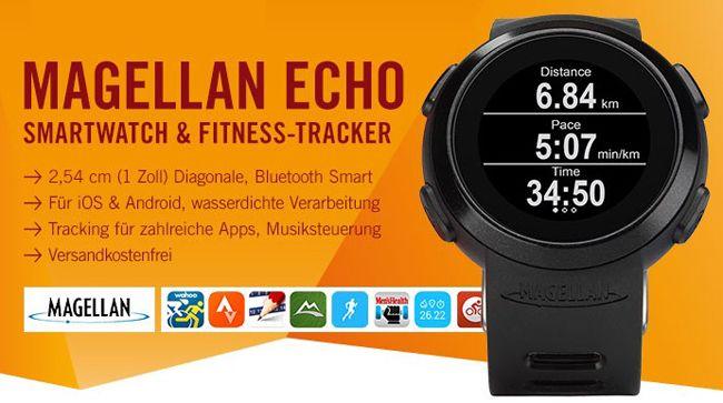 Magellan Echo Smartwatch für 79€