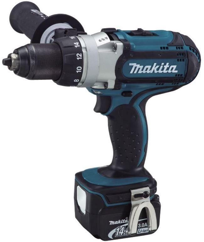 Makita BDF441RFJ   Akku Bohrschrauber im MAKPAC mit 2 x 3,0 Ah Akkus für 259€