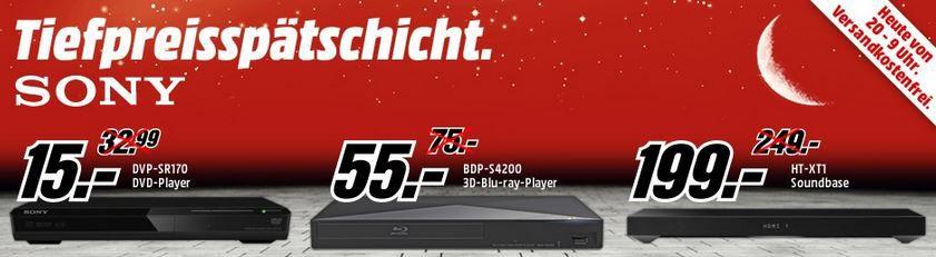 MediaMarkt tiefpreis Sony STR DN 840 7.2 AV Receiver für 244€ bei der MediaMarkt Tiefpreisspätschicht