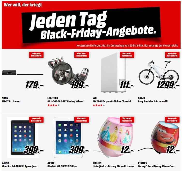 FIFA 14 für Konsolen ab 16€ bei den MediaMarkt Black Friday Angeboten