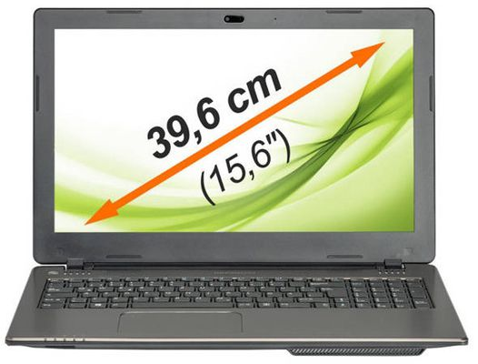 Medion Akoya E6239   15 Zoll Notebook (500GB, 2GB Ram, USB 3.0, Windows 8.1) für 199,99€