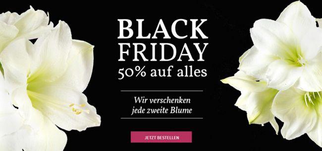 Miflora Black Friday 50% Rabatt auf ALLES bei Miflora   jede 2. Blume geschenkt bekommen