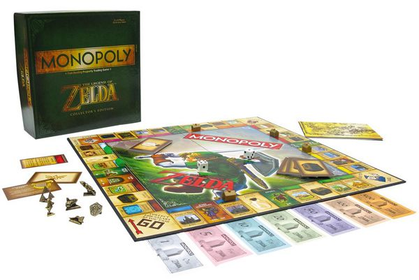 Monopoly Zelda Monopoly Zelda für 28,95€ vorbestellen