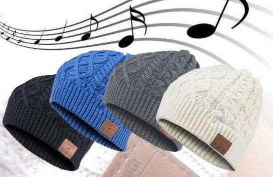 Archos Music Beany   Mütze mit Bluetooth Kopfhörer und Mikrofon für 19,99€