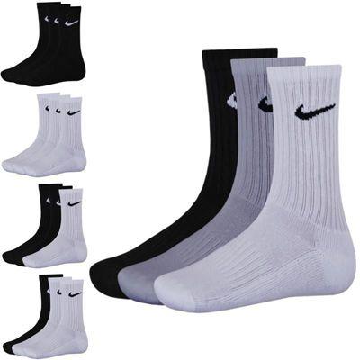 9er Pack Nike Sportsocken   Weiß, Schwarz oder Mix für 22,90€