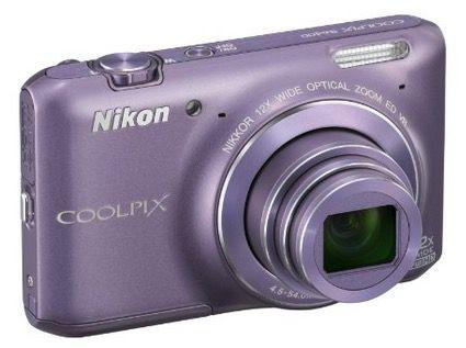 Nikon Coolpix S6400 (16 Megapixel, 12 fach opt. Zoom, 3 Zoll Touchscreen) für 83€