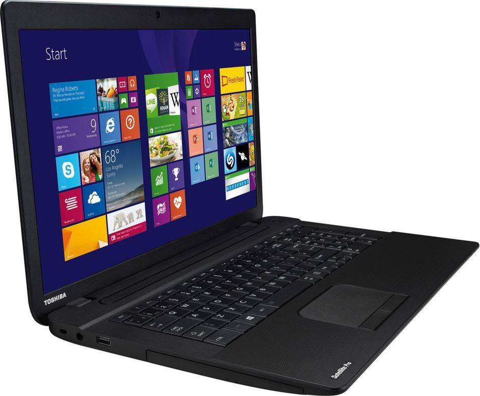 Notebook Toshiba Satellite Pro C70 B 128   17 Notebook mit i3 und 1TB Festplatte für 399€