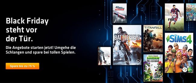 Origin Sale Black Friday Sale bei Origin   z.B. Battlefield 4 Premium Edition für 29,99€