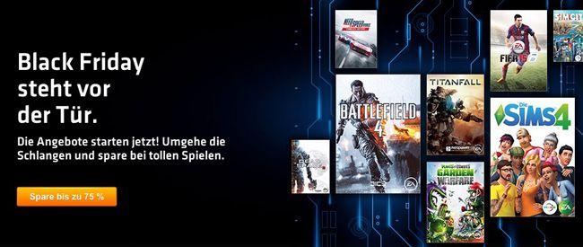 Black Friday Sale bei Origin   z.B. Battlefield 4 Premium Edition für 29,99€