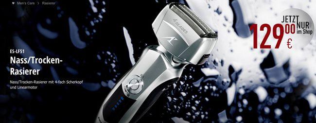 Panasonic ES LF51 Nass/Trocken Rasierer für 129€