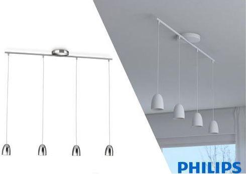 Philips myLiving Wolga Hängeleuchte statt 131€ für 85,90€