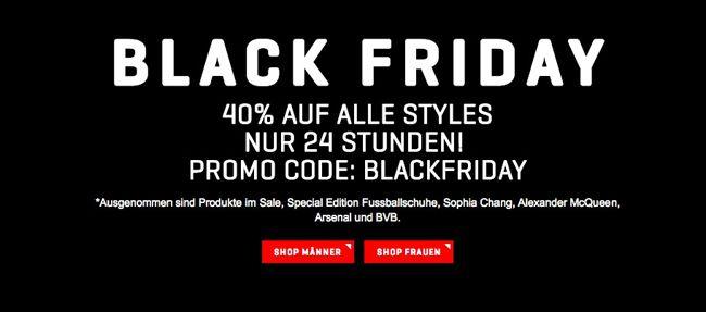Puma Black Friday 40% Rabatt auf fast alles im Puma Online Shop