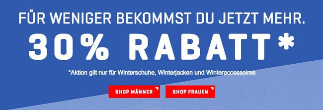 Puma Winter Sale 30% Rabatt auf Puma Winterschuhe, Winterjacken und Winteraccessoires