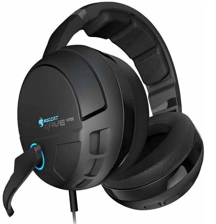 Roccat Roccat ROC 14 160 Kave XTD Digital Premium 5.1 Surround Headset statt 160€ für 139,99€