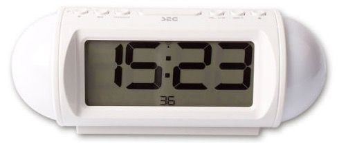 SEG CR 125 Radiowecker mit Stimmungslicht und LCD Display für 19,95€