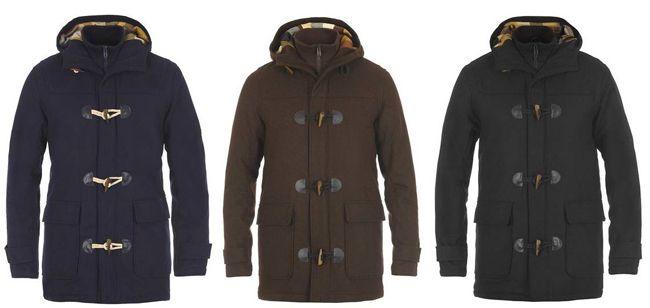 SOLID Vikram Dufflecoat Herren Jacke in 3 Farben für je 79,95€