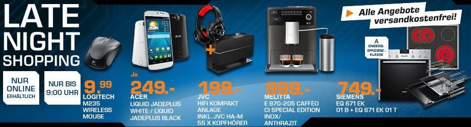 JVC NX W5BE Soundsystem +  JVC HA M 55 X Kopfhörer statt 304€ für 199€ – und mehr Saturn Late Night Angebote