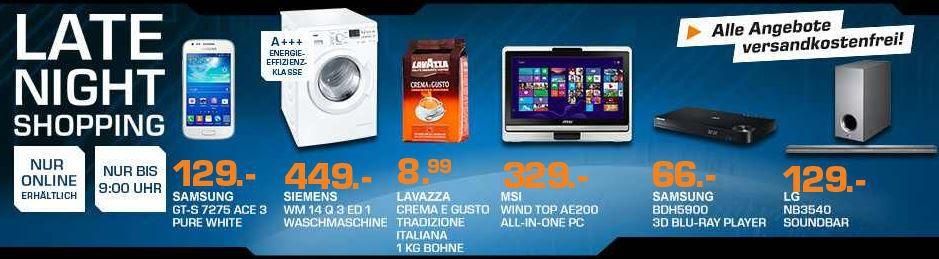 Saturnlate LG NB3540   2.1 Sounbar statt 160€ für 129€ – und mehr Saturn Late Night Angebote