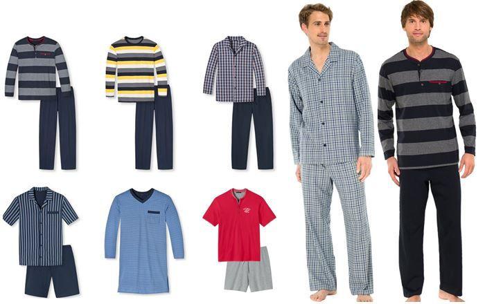 Schiesser   Herren Schlafanzüge, Pyjamas, Nachthemden für je 34,95€