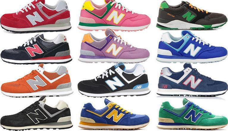 the latest 97ad2 6f021 NEW BALANCE - klassische Damen und Herren Sneaker je Paar ...