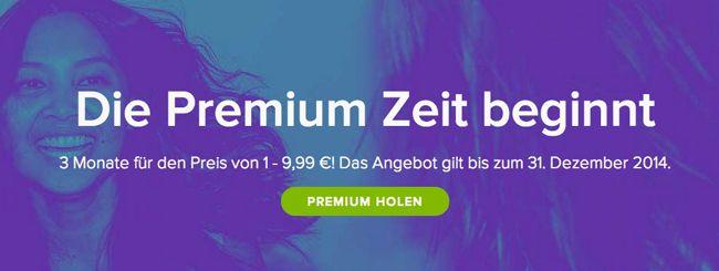 Spotify Premium   3 Monate für nur 9,99€