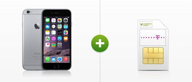 Telekom Magenta Mobil M (Allnet Flat, SMS Flat, 1,5GB LTE) + iPhone 6 / Samsung Galaxy Note 4 für 49,95€ monatlich