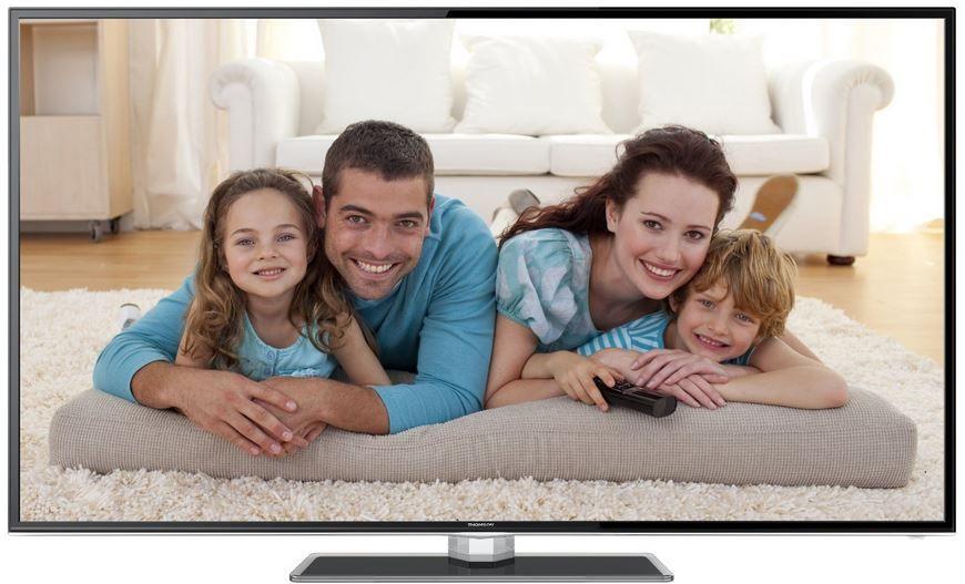Thomson 48FZ5635 Thomson 55FZ5635   55 Zoll smart 3D TV mit triple Tuner für 599€