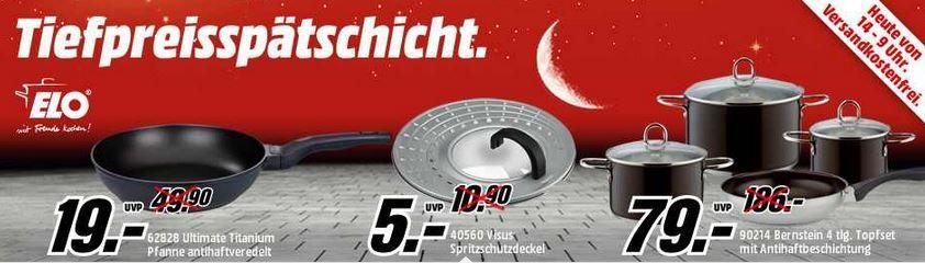 Tiefpreis ELO ELO 40560 Spritzschutzdeckel Visus für 5€ und mehr ELO Artikel in der MediaMarkt Tiefpreisspätschicht