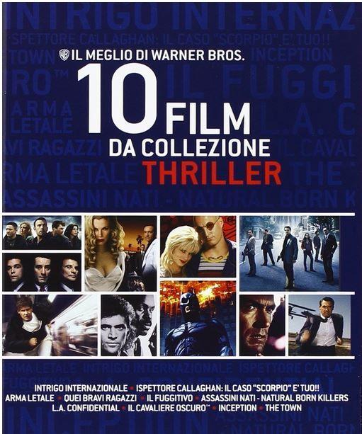 Dirty Harry + 9 Top Thriller auf Blu ray in der Warner Brother Box für 22,47€