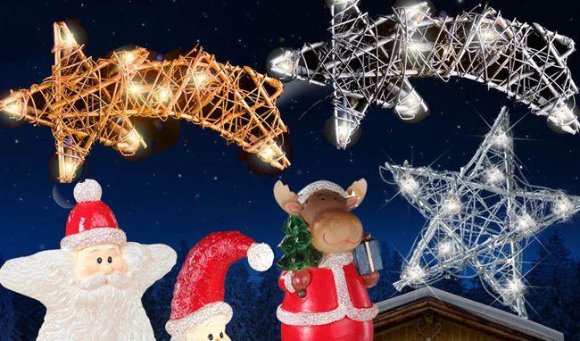 In  und Outdoor Weihnachtsbeleuchtung im 2er oder 3er Pack für jeweils 9,99€
