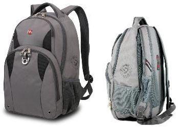 Wenger SA3250412408   Laptop Backpack mit Smart Scan für 24,90€