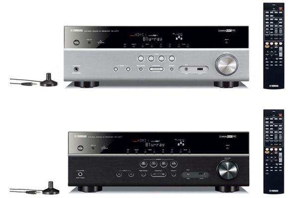 Yamaha RX V477 Yamaha RX V477 5.1 AV Receiver mit AirPlay und DLNA für 269,73€