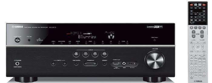 Yamaha RX V675 Netzwerk AV Receiver mit HDMI, AirPlay, USB für 349€
