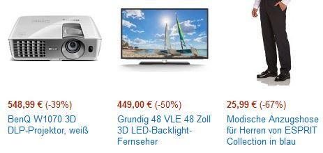 amazon Cybermonday15 BenQ W1070 für 548,99€ – 3D Full HD DLP Projektor bei den Amazon Cybermonday Angeboten bis 19Uhr