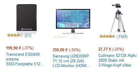 amazon Cybermonday20 Transcend ESD400 externe SSD Festplatte 512GB für 199,90€ bei den Cyberweek Angeboten bis 18Uhr