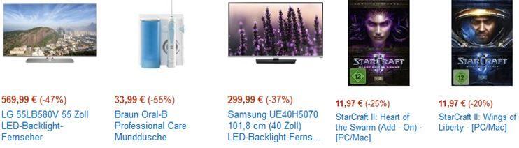 amazon Cybermonday28 LG 55LB580V   55 Zoll Smart TV für 569,99€ bei den letzten Cyberweek Angeboten von heute