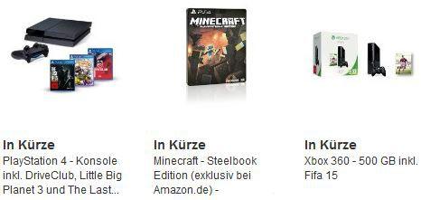 amazon Cybermonday53 PlayStation 4 + DriveClub, Little Big Planet 3 + The Last of Us: Remastered für 439,97€ bei den letzten Cyberweek Angeboten