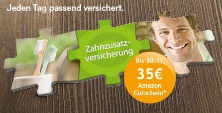 asstel Zahnzusatzversicherung im 1. Jahr effektiv kostenlos dank 35€ Amazon Gutschein   nur 2 Jahre Mindestlaufzeit