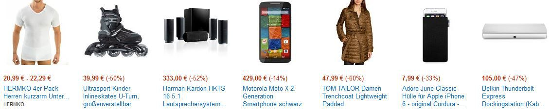 blitz2 Motorola Moto X 2. Generation Smartphone für 429€ bei den Cyberweek Angeboten ab 18Uhr