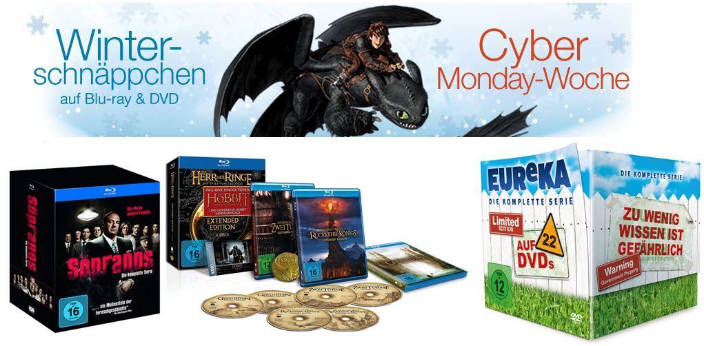 Amazon Cyberweek DVD   Bluray Winterschäppchen