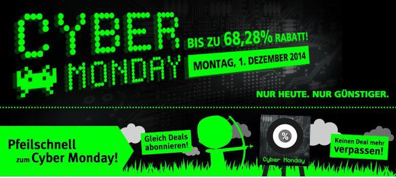 cyber2 Comtech heute mit bis zu 68% Rabatt bei den CyberMonday Angeboten!