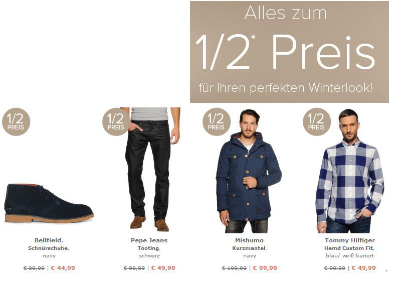 dress1 dress for less   alles zum 1/2 Preis + 10% Gutschein
