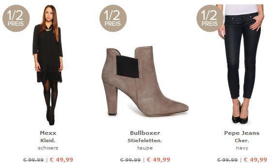 dress2 dress for less   alles zum 1/2 Preis + 10% Gutschein