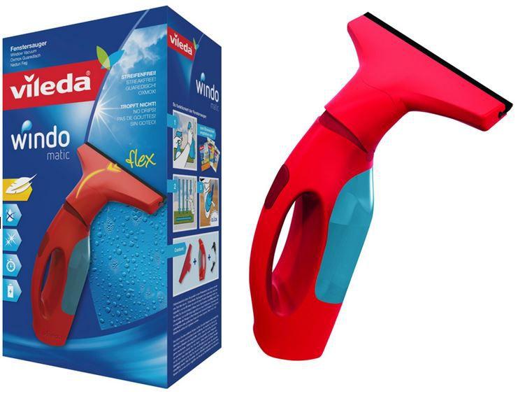 ebay wow vileda Windomatic   Akku Fenster Reiniger & Sauger für 29,02€