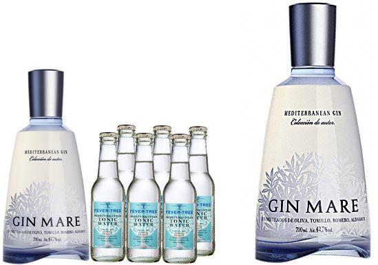Wieder da! Gin Mare + 6 x Fever Tree Tonic Water für 41,90€ (statt 90€)