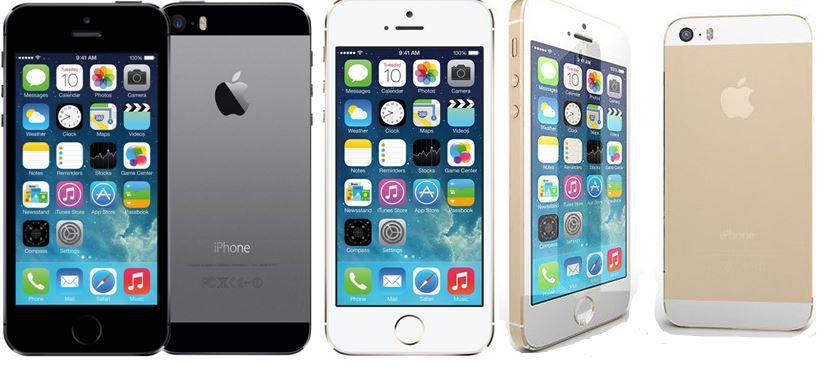 Apple iPhone 5S (refurbished) mit 16GB in silber und gold für je 329€
